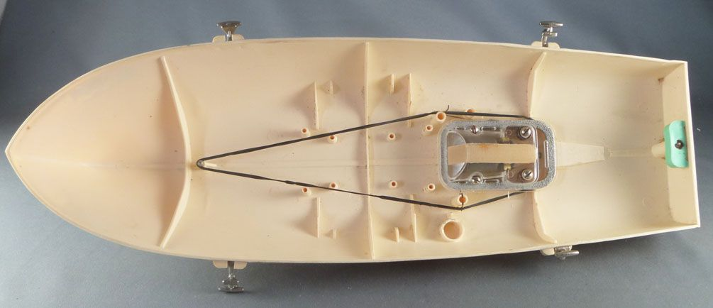 Hornby Meccano Réf 900 Canot de Course Alcyon Boite Notice Bassin