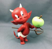 Hot Stuff (Harvey Comics) - Démons et Merveilles 7inch Resin Figure - Hot Stuff and the Apple of Temptation