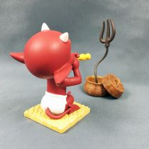 Hot Stuff (Harvey Comics) - Figurine Résine 10cm Démons et Merveilles - Hot Stuff Charmeur de Serpents