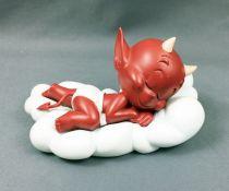 Hot Stuff (Harvey Comics) - Figurine Résine 13cm Démons et Merveilles - Hot Stuff dort sur un nuage