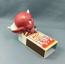 Hot Stuff (Harvey Comics) - Figurine Résine 17cm Démons et Merveilles - Hot Stuff dans la Boite d\'Allumettes