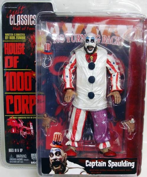 House of 1000 Corps - Captain Spaulding - Figurine Cult Classics