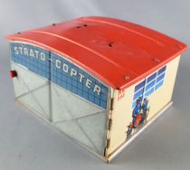 Huki HK 560 West Germany Vintage Strato Copter Tin Garage Shield Radar