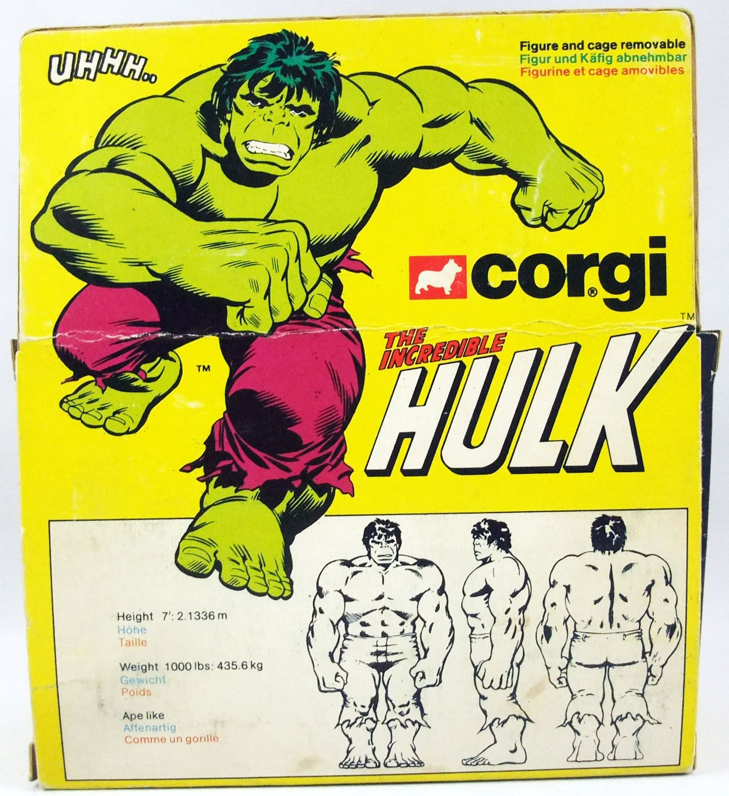 Hulk - Corgi ref. 264 - The Incredible Hulk (neuf en boite)