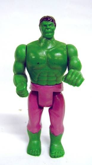 Hulk - Intercars Industrial SA - 4\'\' Hulk action figure