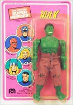 Hulk - Mego World\'s Greatest Super-Heroes - 8\'\' Hulk (mint on card)