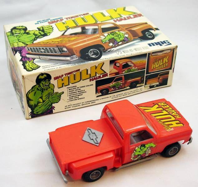 Hulk - Modèle réduit 1/32ème - Hulk Hauler - MPC
