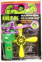 Hulk - Pin Pin Toys - Hulkcopter  (Mint on Card)