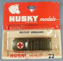 Husky Ref # 22 Citroën Ds Id Station Wagon Safari Ambulance Khaki 1:64 Mint on Deglued Card