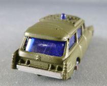 Husky Ref # 22 Citroën Ds Id Station Wagon Safari Ambulance Khaki 1:64 Mint on Deglued Card