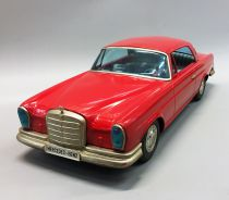 Ichiko (Japon) - Voiture à Friction en Tôle 60cm - Mercedes 300 SE