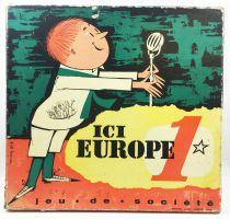 Ici Europe 1 - Jeu de société des célébrités (1960)