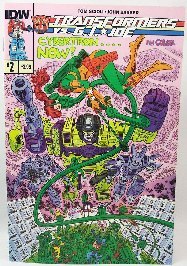 IDW Publishing - Transformers vs. G.I.Joe (2014 Scioli & Barber series) N°1 à 13