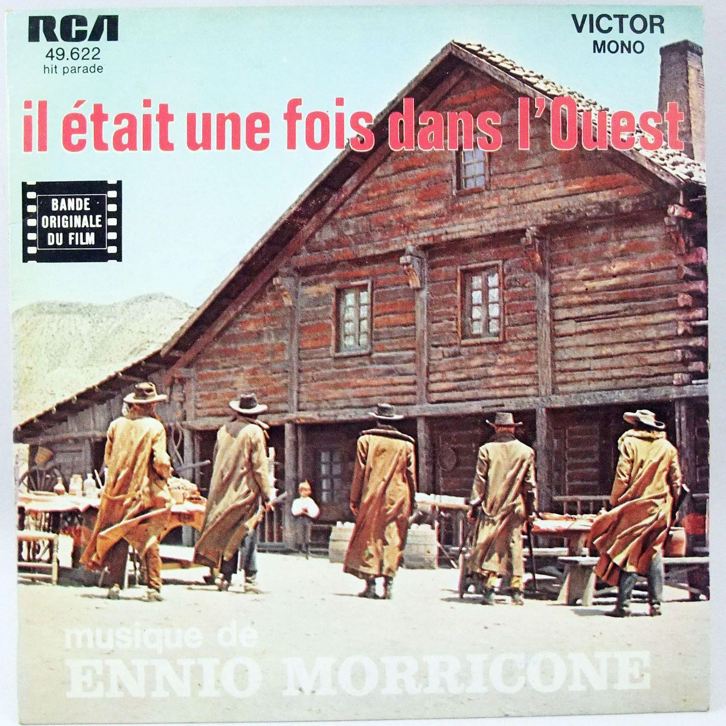 Il était une fois dans l\'Ouest - Disque 45T - Bande originale du film - RCA Records 1968
