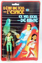 Il était une fois l\'espace - Popy - Le Teigneux Plastic Figure Mint on Card