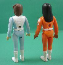 Il était une fois l\'espace - Popy - Série complète de 6 figurines plastique (loose)