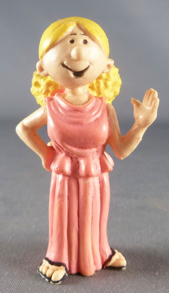 Il était une fois l\'Homme - Pierrette en toge - Figurine PVC Delpi