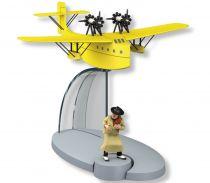 In Plane Tintin - Editions Hachette - 045 The Postal Seaplane (The Broken Ear)