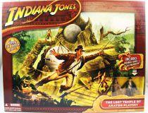 Indiana Jones - Hasbro - Le Royaume du Crâne de Cristal - Le Temple Perdu d\'Akator