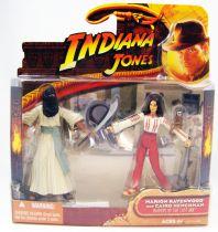 Indiana Jones - Hasbro - Les Aventuriers de l\'Arche Perdue - Marion Ravenwood & Homme de main du Caire