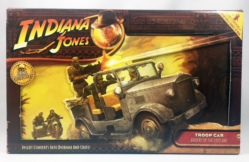 Indiana Jones - Hasbro - Raiders of the Lost Ark - German Troop Car