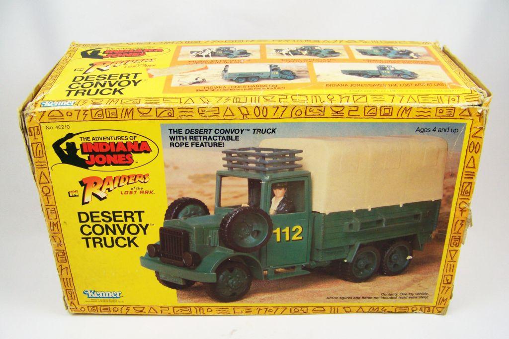 Indiana Jones - Kenner - Les Aventuriers de l\'Arche Perdue - Desert convoy truck 02