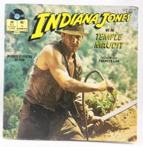 Indiana Jones and the Temple of Doom - Mini-LP w/Story Book - Disques Ades 1984