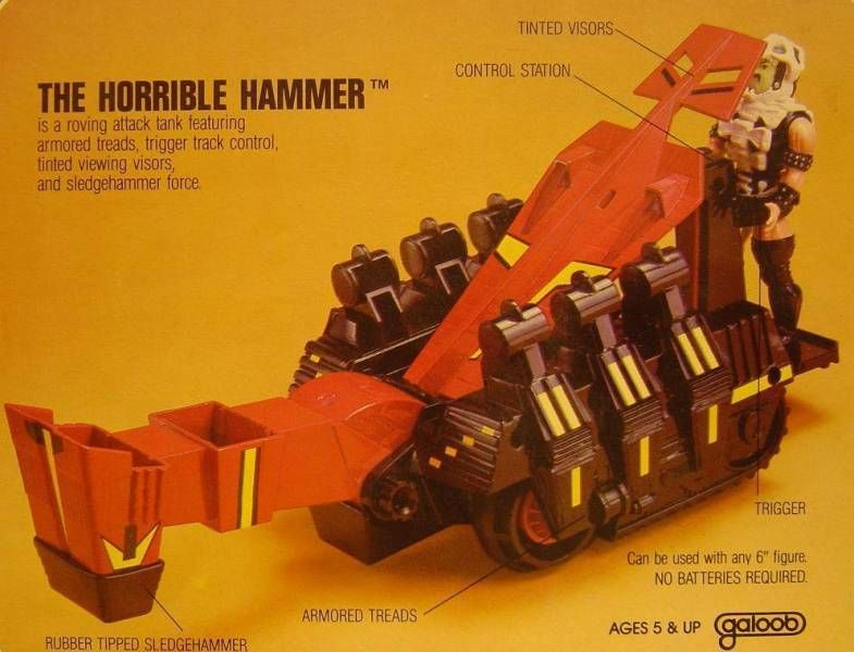 Infaceables - Horrible Hammer (Galoob USA)