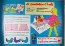 Initiation à la Peinture à l\'Huile - Jeu Educatif - Fernand Nathan 1973 Illustration Nina Morel