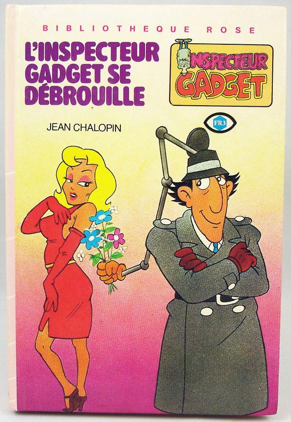 Inspecteur Gadget - Bibliothèque Rose Hachette - L\'Inspecteur Gadget se débrouille