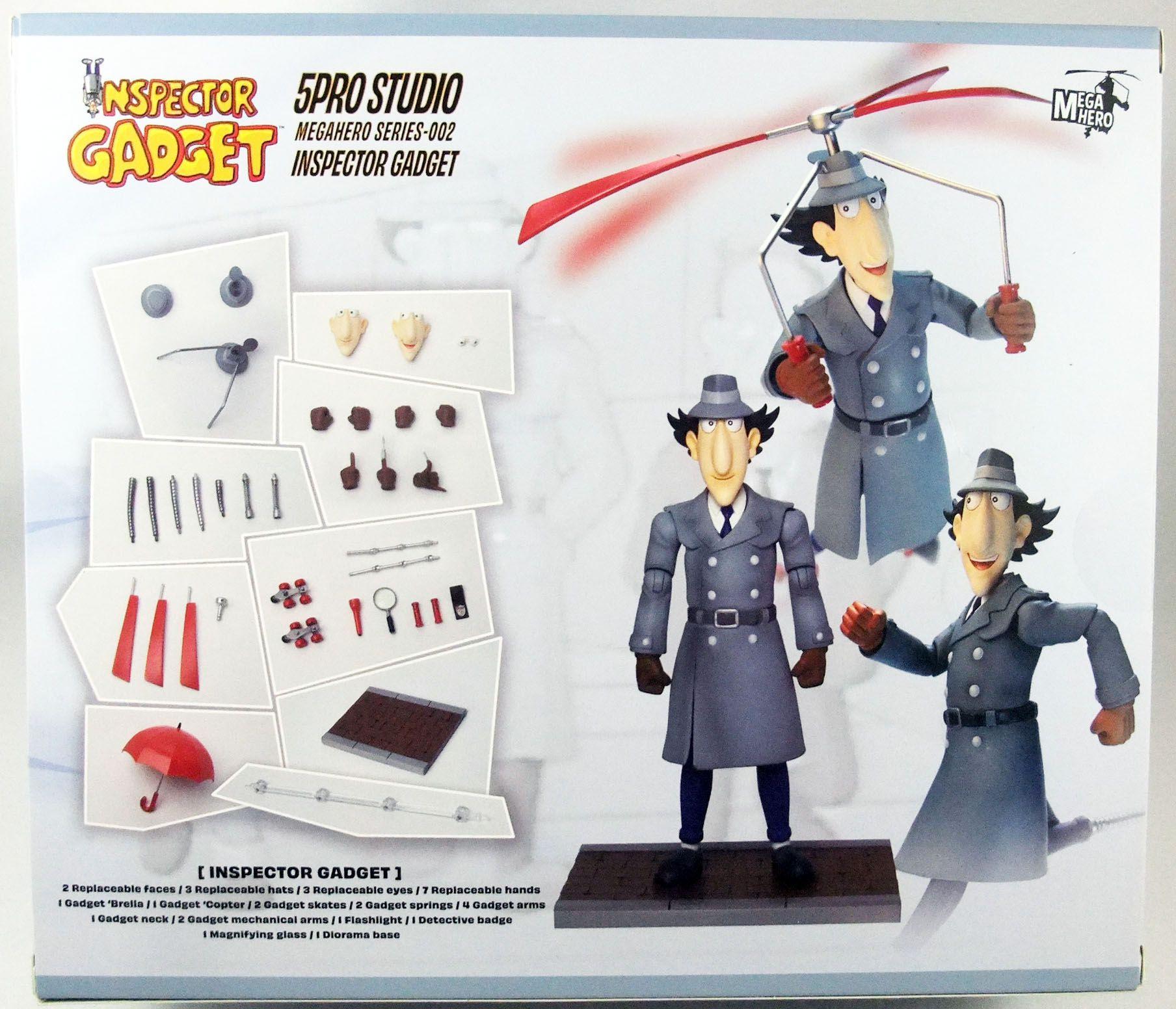 Inspecteur Gadget - Blitzway - Inspecteur Gadget - Figurine articulée  1/6ème MegaHero 5Pro Studio