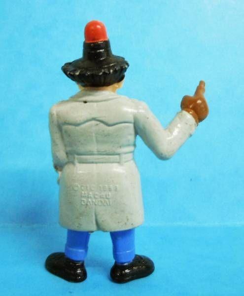 Inspecteur Gadget - Figurine PVC Bandai - Inspecteur Gadget  avec gyrophare (occasion)