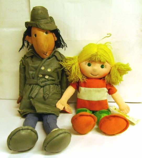Inspecteur Gadget & Penny Dolls lot Kamar