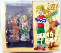 Inspector Gadget - Blitzway - Brain & Penny 1/6 scale Action-Figure - MegaHero 5Pro Studio