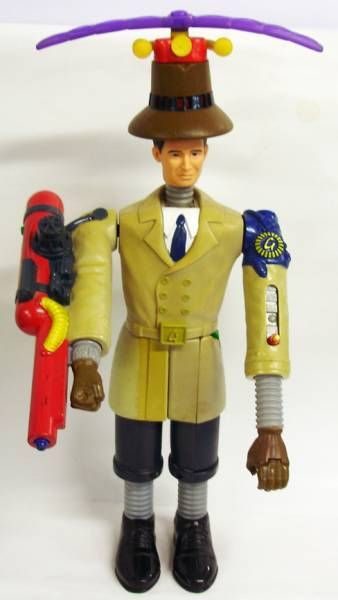 Inspector Gadget 1999 Movie Matthew Broderick 12 Figure Loose P Image 305093 Grande