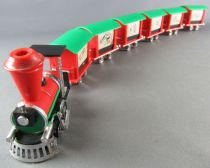 Interlude - Norev (Luxe n°165/1) ORTF - Le Petit Train de Maurice Brunot 6 Wagons