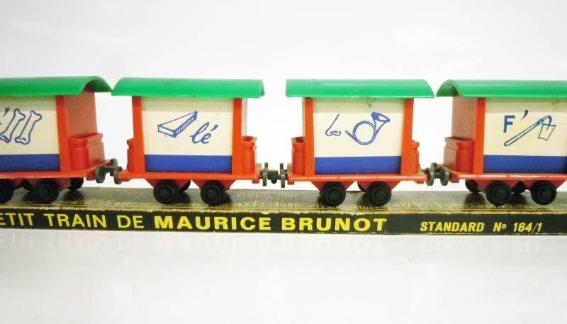 Interlude - Norev ORTF - Le Petit Train de Maurice Brunot (standard n°164/1)