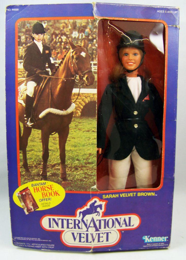 International Velvet - Poupée 30cm Kenner 1978 - Sarah Velvet Brown (Tatum O\'Neal)