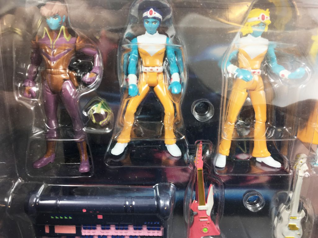 Interstella 5555 (Daft Punk / Leiji Matsumoto) - Promotional Set of 5 Action Figures (Daft Lite)