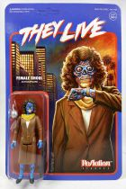 Invasion Los Angeles (They Live) - Figurine ReAction Super7 - Female Ghoul