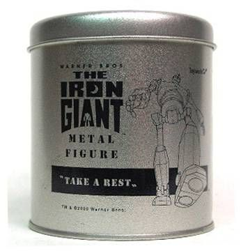 Iron Giant metal mini figure