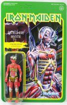 Iron Maiden - Super7 ReAction Figure - Cyborg Eddie (Somewhere In Time)