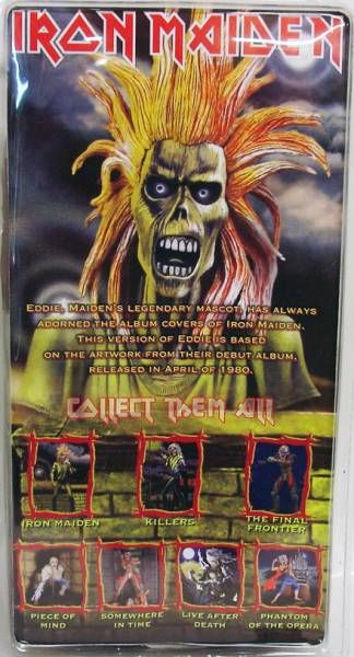 Iron Maiden Eddie \'\'Debut Album\'\' - figurine NECA