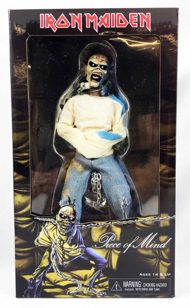 """Iron Maiden Eddie \""""Piece of Mind\"""" - NECA Retro figure"""