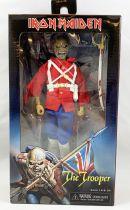 "Iron Maiden Eddie \""The Trooper\"" - figurine Retro NECA"
