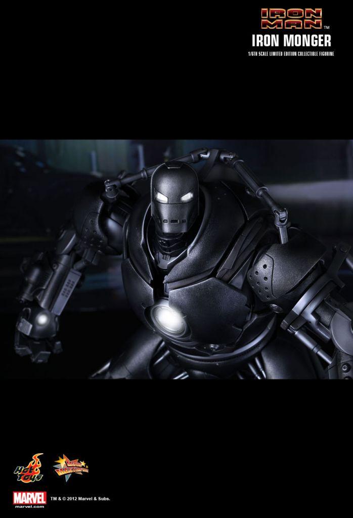 Iron Man - Iron Monger - Figurine 44cm Hot Toys Sideshow MMS 164