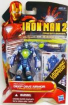 Iron Man 2 - Hasbro - #06 Iron Man Deep Dive Armor