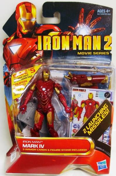 Iron Man 2 - Hasbro - #09 Iron Man Mark IV
