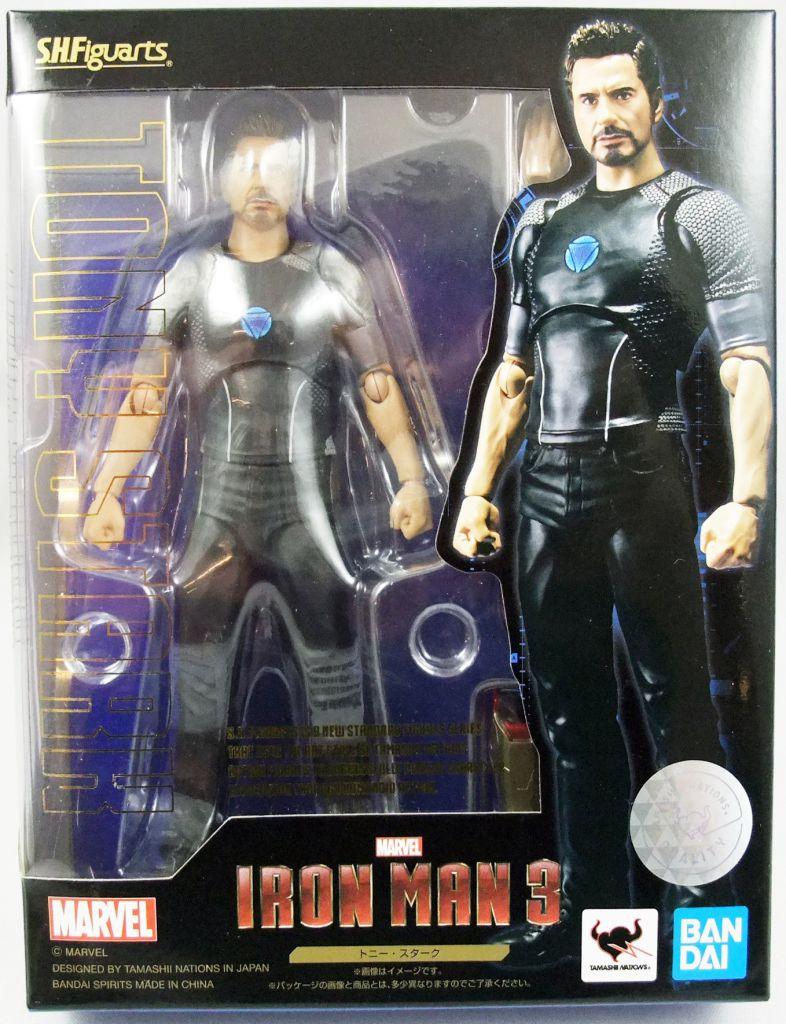 Iron Man 3 - Tony Stark - Figurine S.H.Figuarts Bandai