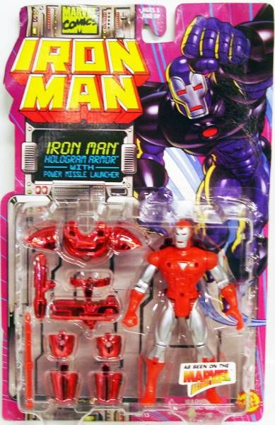 Iron Man Animated Series - Hologram Armor Iron Man